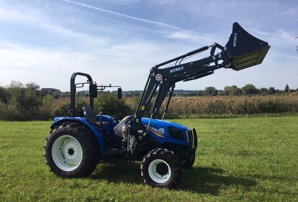 New Holland TD3.50 mit Stoll Frontlader