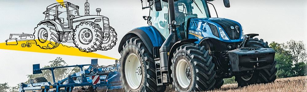 New Holland Traktor T7.