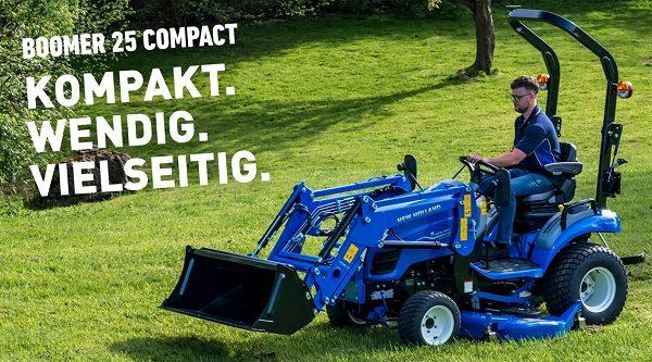 New Holland Kompakttraktor Boomer