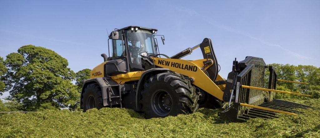 New Holland Radlader